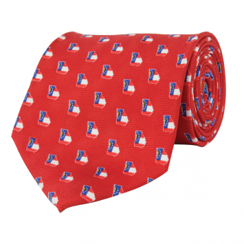 GA Traditional Red Tie